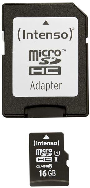 Intenso UHS-I Premium microSDHC 16GB