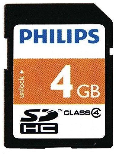 Philips SDHC 4GB Class 4 (FM04SD35B/10)