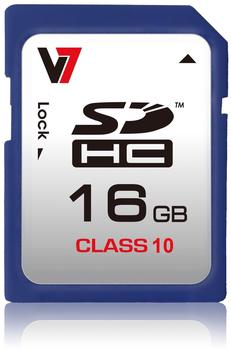 V7 SDHC 16GB Class 10 (VASDH16GCL10R-2E)