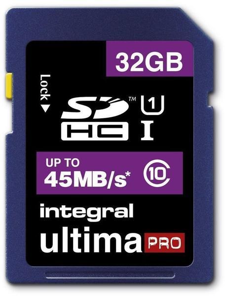 Integral SDHC UltimaPro 32GB Class 10 (INSDH32G10-45)