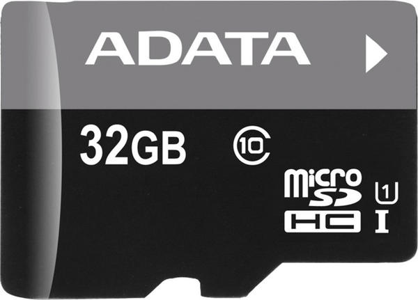 A-Data microSDHC Premier 32GB Class 10 UHS-I + SD-Adapter