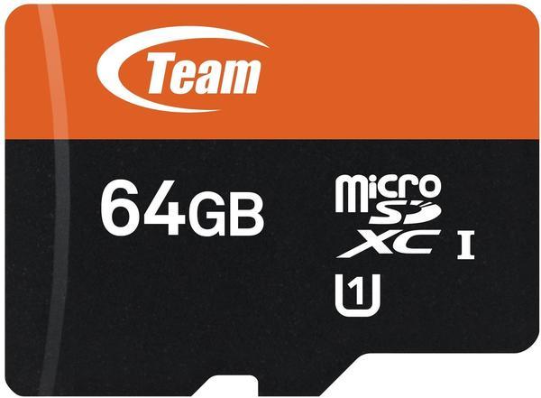 Team 500x microSDXC 64GB Class 10 UHS-1 (TUSDX64GUHS03)