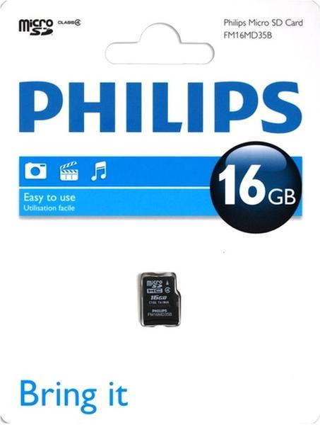 Philips microSDHC 16GB Class 4 (FM16MD35B/10)