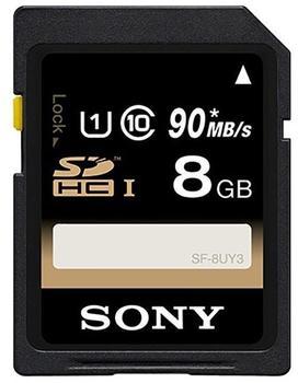 Sony SDHC 8GB Class 6 UHS-I (SF8U)