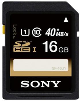Sony SDHC 16GB Class 6 UHS-I (SF16U)