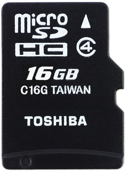 Toshiba microSDHC M102 - 16GB (THN-M102K0160M2)