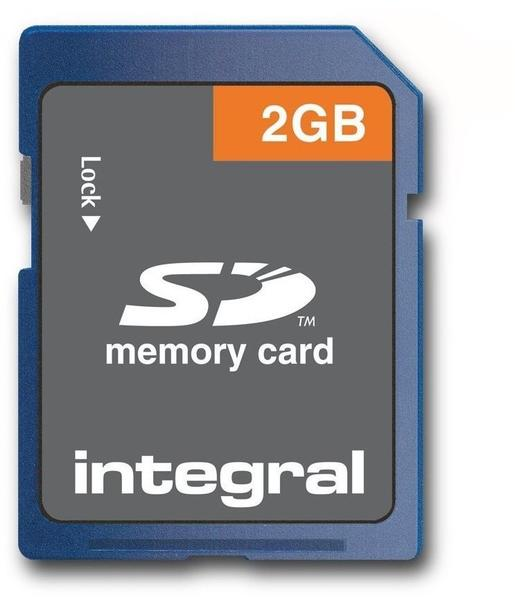 INTEGRAL 2 GB Secure Digital (SD) Speicherkarte