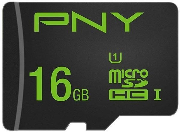 PNY microSD High Performance Class 10 80MB/s UHS-I + SD-Adapter