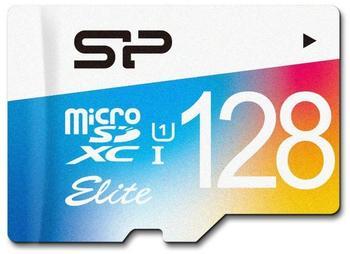 Silicon Power Elite Colorful microSDXC 128GB mit Adapter