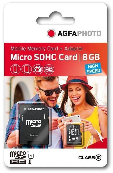 AgfaPhoto microSDHC High Speed 8GB Class 10 (10579)