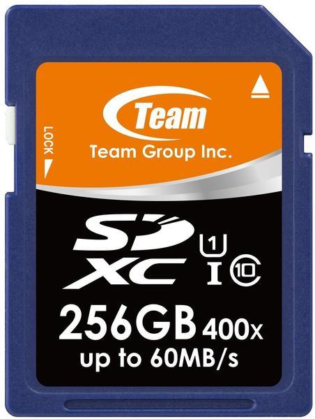 Team SDXC 256GB UHS-I U1
