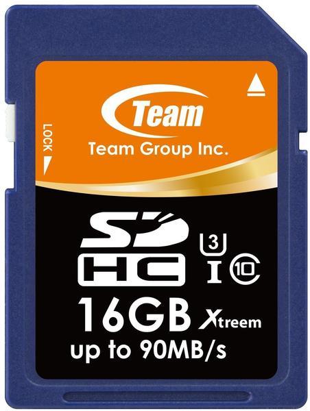 Team Xtreem SDHC 16GB UHS-I U3