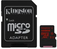 Kingston microSDXC SDCA3 128GB UHS-I U3 + SD-Adapter
