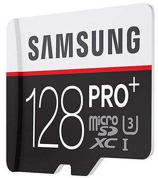 Samsung microSDXC PRO Plus 128GB Class 10 UHS-I U3 + SD-Adapter