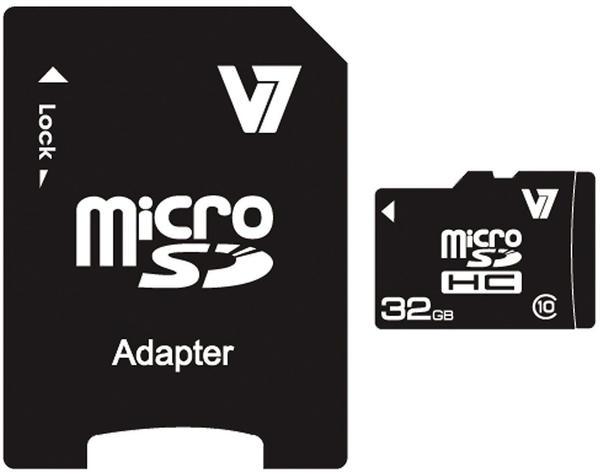 V7 microSDHC 32GB Class 10 (VAMSDH32GCL10R-2E)