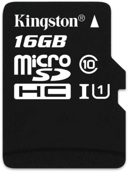 Kingston microSDHC Industrial Temp UHS-I 16GB (SDCIT/16GBSP)