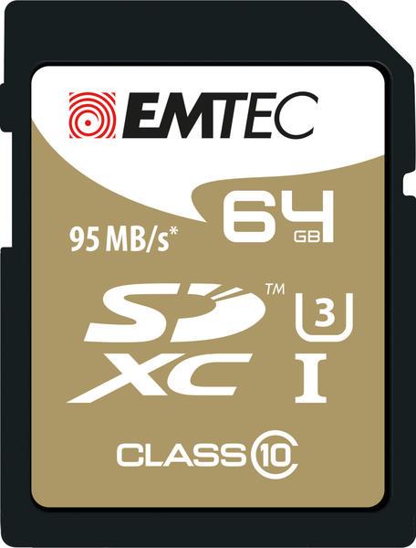 Emtec SDXC 64GB Class 10 Speedin UHS-I U3 (ECMSD64GXC10SP)