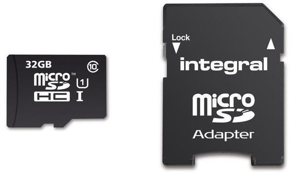 Integral UltimaPro microSDHC 90MB Class 10 UHS-I U1 - 32GB