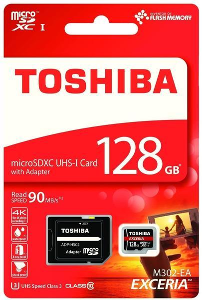 Toshiba EXCERIA M302 128GB