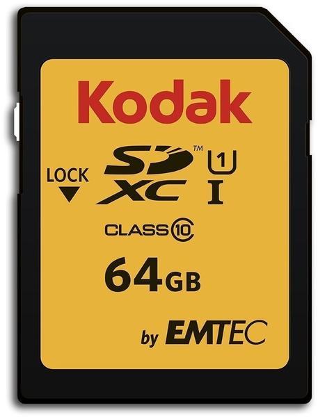 Kodak SDXC Class 10 UHS-I U1 64GB (EKMSD64GXC10K)