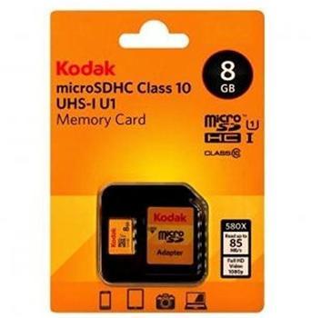 Kodak microSDHC UHS-I U1 8GB (EKMSDM8GHC10K)