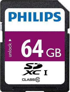 Philips SDXC Class 10 UHS-I 64GB (FM64SD55B/10)