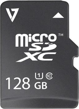 V7 microSDXC 128GB UHS-I (VFMSD128GUHS1R-3E)