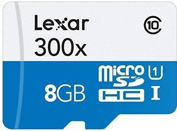 Lexar High-Performance 300x microSDHC 8GB UHS-I (LSDMI8GBBBEU300)