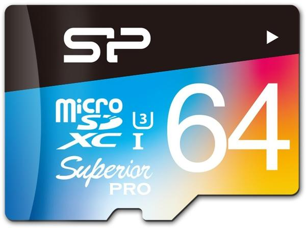 Silicon Power Superior Pro Colorful microSDXC 64GB