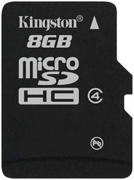 Kingston microSDHC 8GB Class 4 (SDC4/8GBSP)