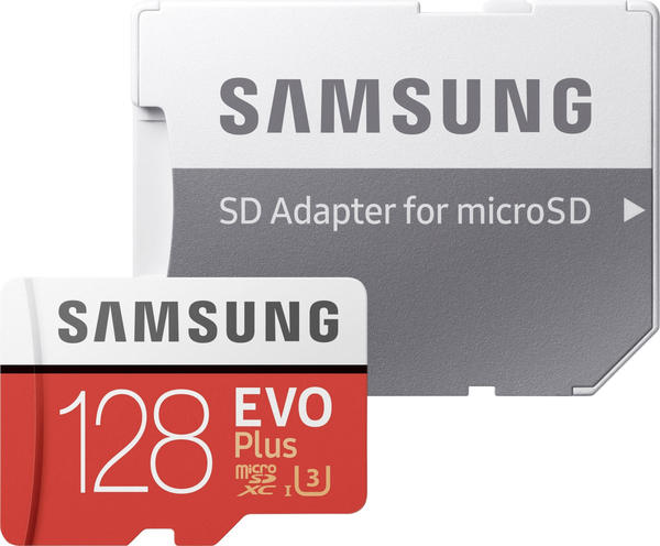Samsung EVO Plus (2017) microSDXC 128GB (MB-MC128GA)