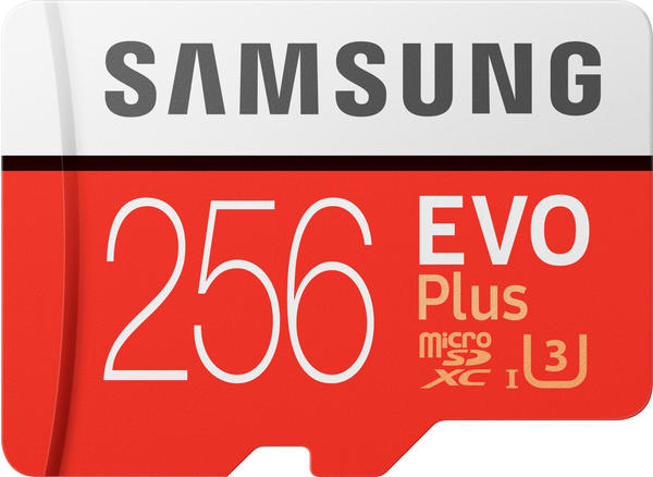 Samsung EVO Plus (2017) microSDXC 256GB (MB-MC256GA)