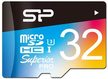 Silicon Power Superior Pro Colorful microSDHC 32GB