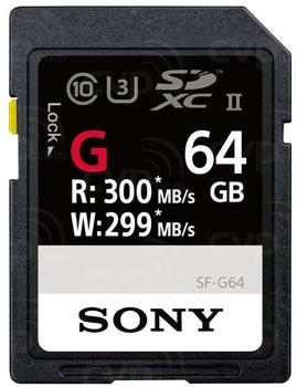 Sony SDXC UHS-II 64GB (SF-M64)
