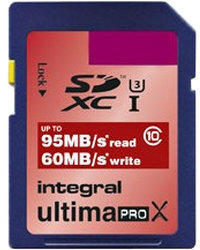 Integral UltimaPro X SDXC 95/60MB UHS-I U3 - 128GB