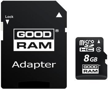 GoodRAM microSDHC Class 4 - 8GB (M40A-0080R11)