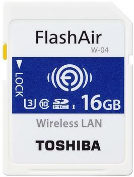 Toshiba FlashAir W-04 - 16GB