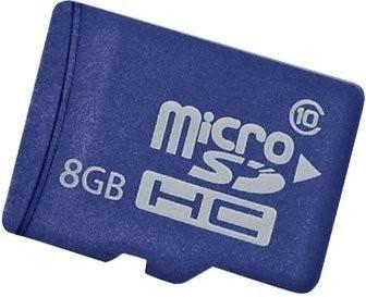 HP Enterprise Mainstream microSDHC Flash Media Kit 8GB Class 10 (726116-B21)