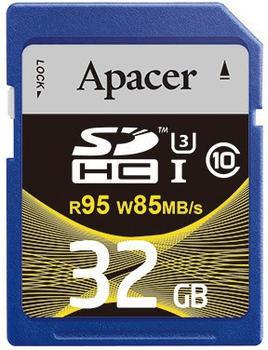 Apacer SDHC UHS-I U3 Class 10 - 32GB (AP32GSDHC10U4-R)