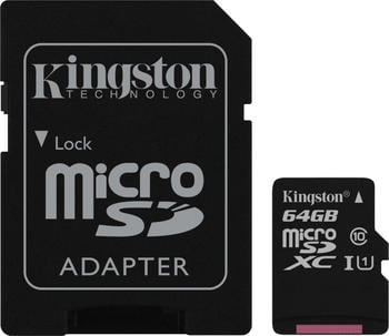 Kingston Canvas Select microSDXC 64GB (SDCS/64GB)
