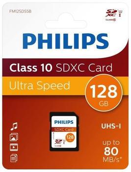 Philips SDXC Class 10 UHS-I 128GB
