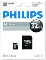Philips FM32MP35B/10 32GB Micro SDHC-Speicherkarte