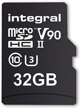 Integral UltimaPro X2 UHS-II V90 microSDHC 32GB