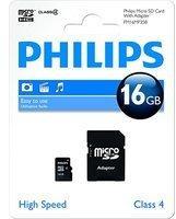 Philips FM16MP35B/10 16GB Micro SDHC-Speicherkarte