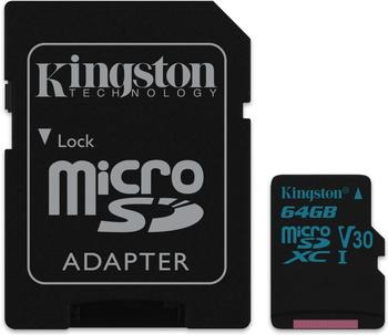 Kingston Canvas Go! microSDXC 64GB (SDCG2/64GB)