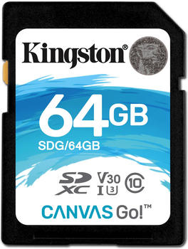 Kingston Canvas Go! SDHC 64GB
