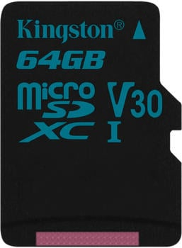 Kingston Canvas Go! microSDXC 64GB (SDCG2/64GBSP)