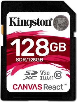 Kingston Canvas React SDXC 128GB (SDR/128GB)