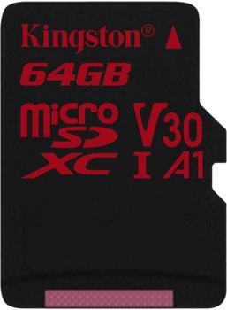 Kingston Canvas React microSDXC 64GB (SDCR/64GBSP)