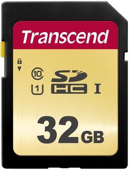 Transcend 500S SDHC 32GB